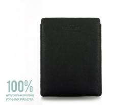 Кожаный чехол для iPad черный Рoolparty фото
