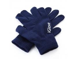 Перчатки для iРhone iGloves Синие фото