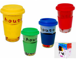 "Чашка непроливайка ""Lovely house"" фото"