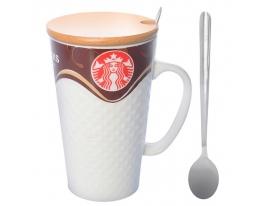 Чашка керамическая Starbucks 400 мл фото
