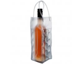 Гелевая сумка - холодильник для бутылки  фото