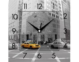 Часы квадратные Ретро фото