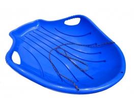 Санки Большая Ракушка синий фото