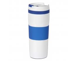 Термокружка вакуумная Синяя фото