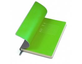 Бизнес-блокнот Funky Серо-зеленый