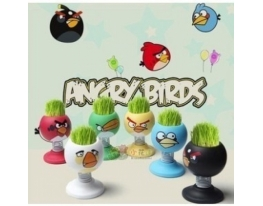 Травянчик Angry Birds (Энгри Бердс) на пружинке фото