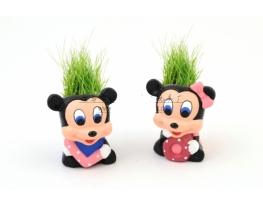 Керамический травянчик с семенами Мики Маус фото