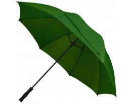 Зонт - трость антишторм 133см Зеленый фото