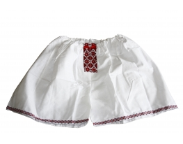 Мужские трусы - шорты Вышиванка красные фото