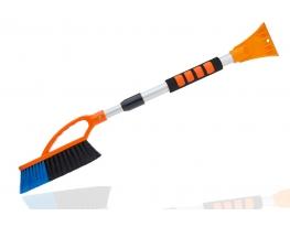 Скребок - щетка с телескопической ручкой Арктика 75-105см фото