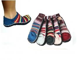 Вязаные тапочки - носочки PESAIL фото