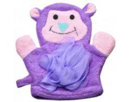 Мочалка перчатка детская Животные фото