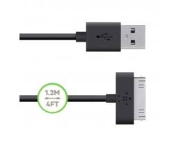 Уплотненный USB кабель для iPhone 4