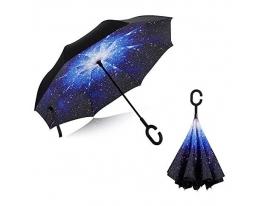 Ветрозащитный зонт обратного сложения UP-brella фото