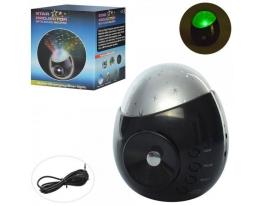 Музыкальный ночник-проектор, звуки природы,MP3 фото