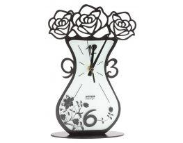 Часы настенные Ваза с цветами SETTLER фото