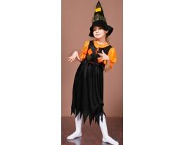 Детский карнавальный костюм Ведьмочка фото