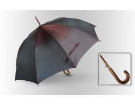 Зонт Антишторм трость Бордово-изумрудный фото