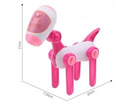 Проектор в виде собаки, слайды Розовый фото