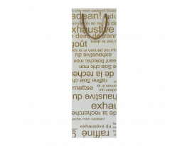Пакет подарочный под бутылку с золотистым текстом фото 1