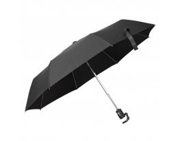 Зонт складной автоматический Черная Классика фото