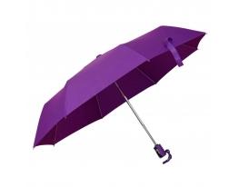Зонт складной автоматический Сливовый фото