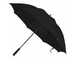 Зонт - трость антишторм 133см Черный фото