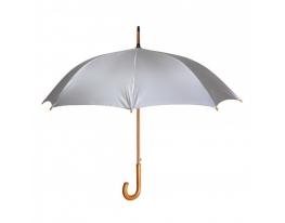Зонт-трость полуавтомат Металлик фото