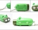 Механически заряжающийся фонарик Свин фото 1
