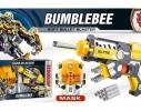 Игровой набор бластер, маска, поролоновые снаряды Shantou Transformers Бамблбi фото