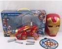 Игровой набор бластер, маска, поролоновые снаряды Железный человек фото