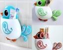 Держатель для зубных щеток и пасты Птичка фото 1