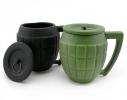 Чашка с крышкой Граната фото