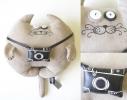 Мягкая игрушка Кот Фотограф Иннокентий Большой фото