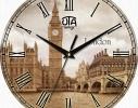 Часы настенные круглые Лондон фото