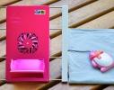 Охлаждающая подставка-держатель для планшетов Розовая фото 3