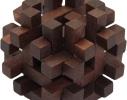 Деревянная головоломка Крест фото