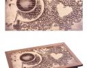 Поднос с подушкой Кофеман фото