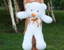Плюшевый медведь Тедди 100 см Белый фото