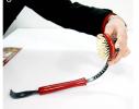Массажер ручной, щетка двусторонняя с чесалкой на ручке фото 3