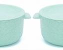 Кастрюля с крышкой-тарелочкой для запаривания каши, лапши или хранения пищи фото 4