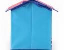 Короб Домик - органайзер для игрушек и вещей голубой фото 2