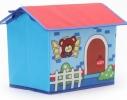 Короб Домик - органайзер для игрушек и вещей голубой фото 4