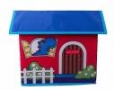 Короб Домик - органайзер для игрушек и вещей фото