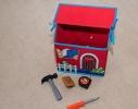 Короб Домик - органайзер для игрушек и вещей фото 3