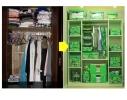 Короб-кофр с окошком, крышка на липучке для детских игрушек, вещей фото 4