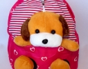 Рюкзак детский с игрушкой собачка фото 3