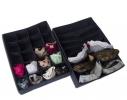 Комплект органайзеров для белья 2 шт Джинс фото