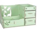 Комод настольный для косметики, украшений, фурнитуры Зеленый фото 1