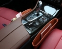 Карман - вкладыш в авто для мелочей Коричневый фото